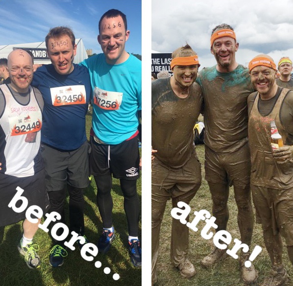 Jamie's Tough Mudder for Medcare!