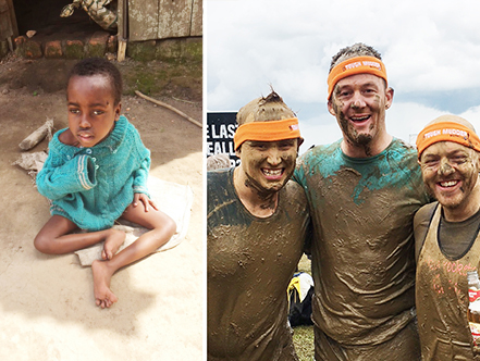 Three men, one hamstring and a lot of mud!